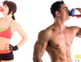 Proteínas en el entrenamiento